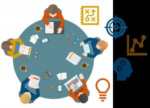 """דו""""ח עסקי הוא בפועל שילוב של מצגות עסקיות ושרותי מומחה אקסל."""